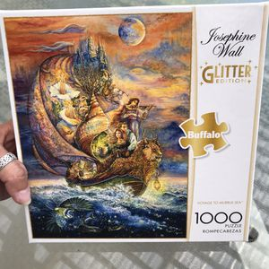 "NEW!!! 1000 Piece Puzzle GLITTER ""VOYAGE TO MURRLIS SEA"" for Sale in Torrance, CA"