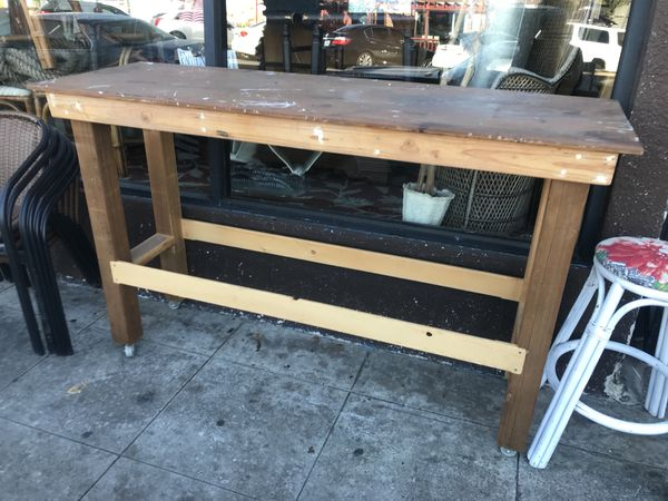 Plant stand work bench