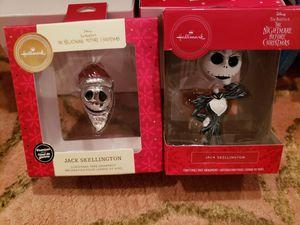 Disney Jack Skellington Ornament Combo for Sale in Camden, NJ