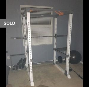 Power squat rack for Sale in Tampa, FL