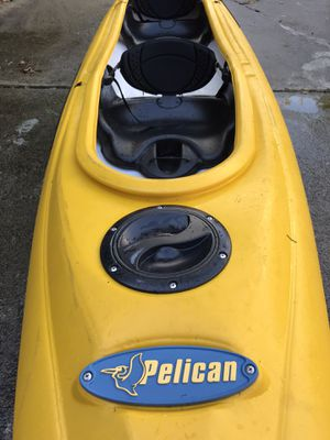 Pelican Kayak with paddles for Sale in Marietta, GA