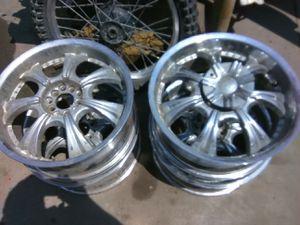 Full set of wheels 18 nice rims 500 for the set for Sale in South Salt Lake, UT