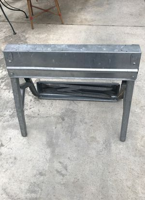 SAW HORSE- metal and folding for Sale in Kennewick, WA