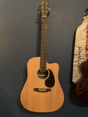 Martin DCX1AE Macassar Dreadnought Acoustic-Electric Guitar for Sale in Milpitas, CA