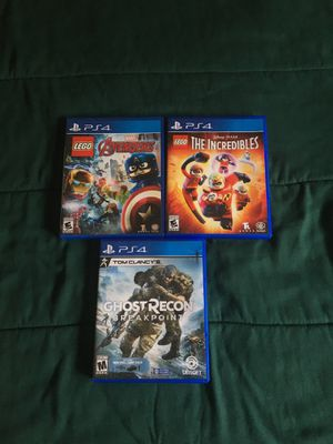 PS4 games for Sale in CA, US