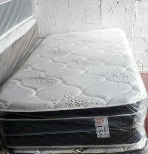 GREAT SALE TWIN PILLOWTOP MATTRESS AND BOX SPRING for Sale in Biscayne Park, FL