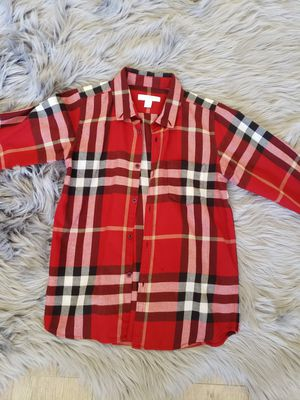 Burberry dress shirt for boys size 10 for Sale in Lincoln Acres, CA