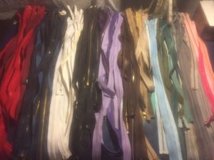 Lot of Zippers for Sale in Rockville, MD