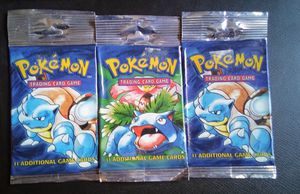 3 Wotc base set pokemon booster packs for Sale in Seattle, WA