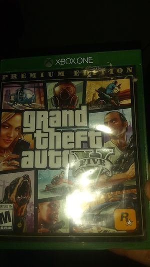 Gta 5 on xbox one for Sale in Suffolk, VA