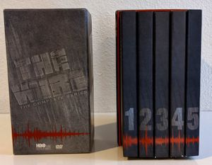 HBO the wire complete dvd box set for Sale in San Francisco, CA
