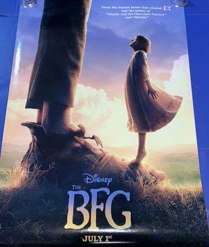 Disney's The BFG Official Movie Poster 41x28 for Sale in Salt Lake City, UT