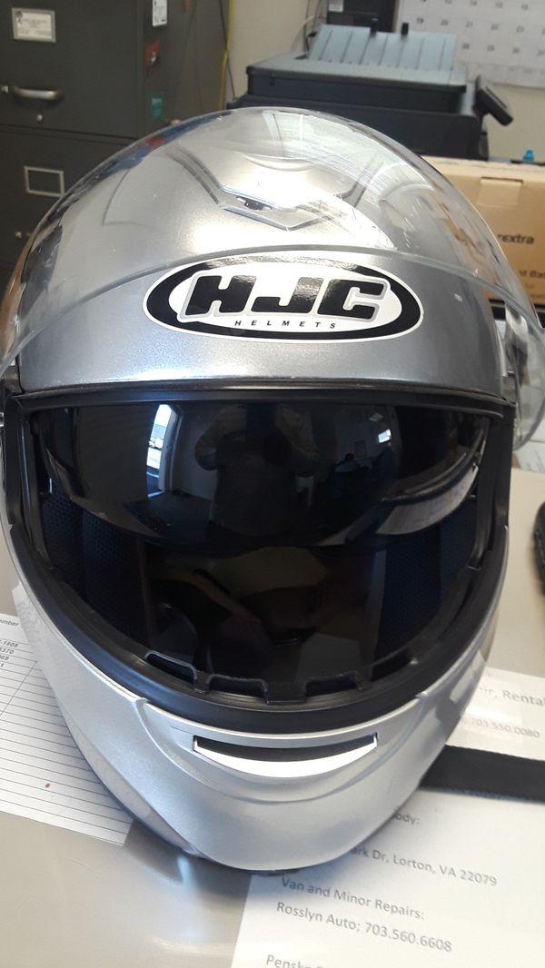 HJC helmet,silver ,midiun