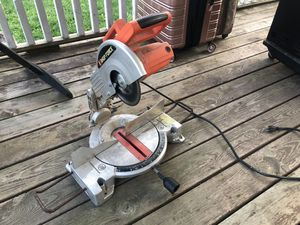 """Shop Force 10"""" Compound Miter Saw for Sale in Monroe, MI"""