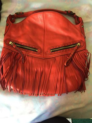 Red leather hobo bag for Sale in Homestead, PA