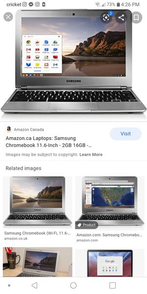 Samsung Chromebook 70$ to who ever comes today for Sale in Bell, CA