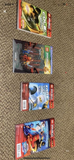 Ninjago books for Sale in Escalon, CA