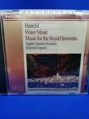 Handel Water Music CD Philips The Royal Fireworks for Sale in Midlothian, VA