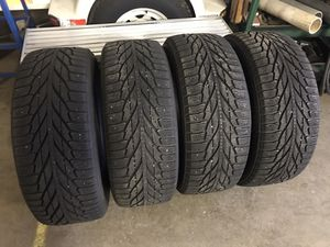 245 55 R 19 four tires with 1800 miles on $450 for Sale in Jersey Shore, PA