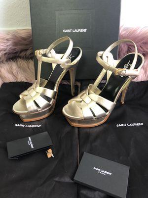 Saint laurent tribute platform brand new authentic size 40 for Sale in Miami, FL