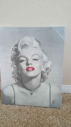 Marylin monroe canvas painting for Sale in Wildomar, CA