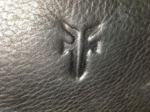 Vintage Frye Black Leather Messenger Shoulder Bag for Sale in CARPENTERSVLE, IL