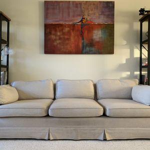 Beige West Elm 3-seat Sofa for Sale in Beaverton, OR