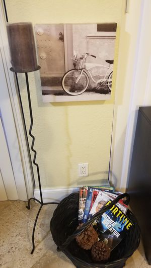 Metal Candle holder for Sale in Boca Raton, FL