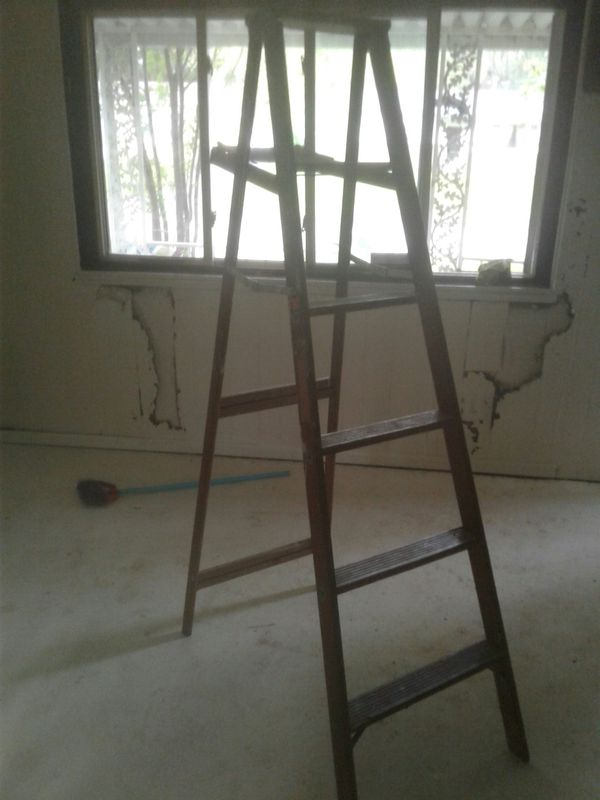 Self stand ladder
