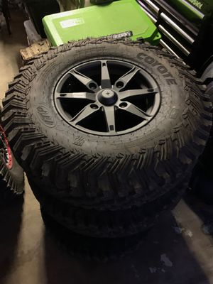 Brand new turbos rims and tires for Sale in Silverado, CA