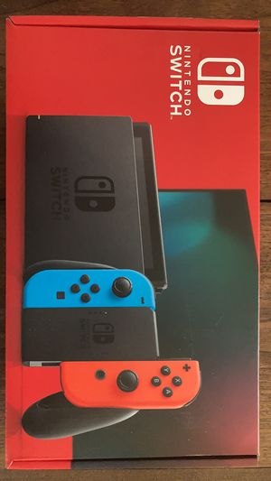 Nintendo switch console v2 blue & red for Sale in Medford, OR
