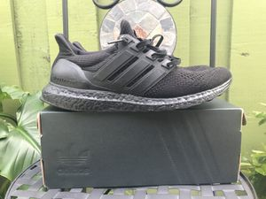 c02bbd130 Adidas Ultra Boost 1.0 Triple Black Size 10.5 Retro Yeezy Off White Air for  Sale in