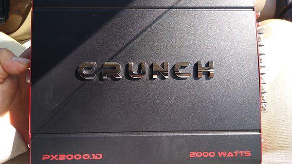 Crunch amplifier