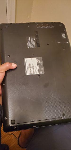 Toshiba Satellite 4 GB ram windows 10 500GB HHD for Sale in Washington, DC