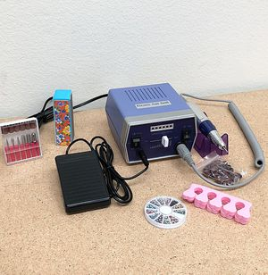 New $40 Professional Manicure Pedicure Electric Nail File Drill Machine Tool Set Salon for Sale in Whittier, CA