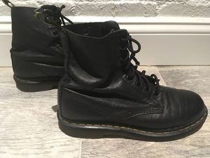 Dr. Martens (Doc Martens) 1460 Nappa Black Boot, Women's Size 9, Men's Size 7 for Sale in Washington, DC