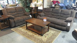 RECLINING SOFA AND LOVESEAT SET BRAND NEW for Sale in Portland, OR