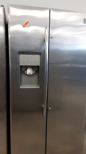 GE stainless steel side by side refrigerator for Sale in Bowie, MD