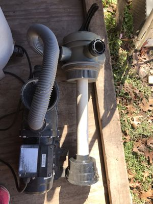 Swimming pool pump for sale 200 for Sale in San Antonio, TX