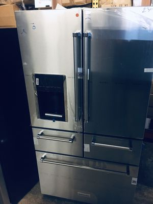 Kitchenaid 5 doors stainless steel refrigerator for Sale in Columbus, OH
