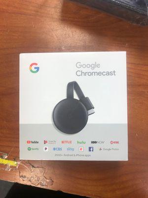 Google Chromecast Streaming Media Player (3nd Gen) ✔ BRAND NEW ✔ for Sale in Miramar, FL