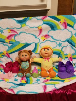 Cabbage Patch animal doll and cabbage patch accessory lot for Sale in Woodstock, GA