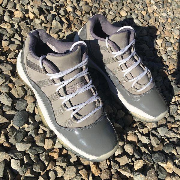 Jordan 11 cool grey size 5y