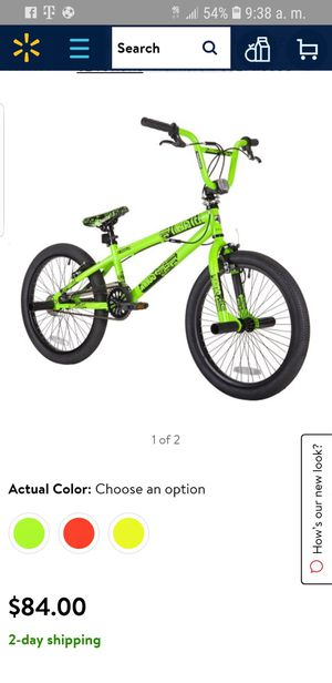 """Kent 20"""" Chaos Boys' BMX Bike, Green for Sale in Dallas, TX"""