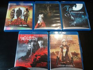 5 Blu-Ray DVD's - Cases for Sale in Peoria, IL
