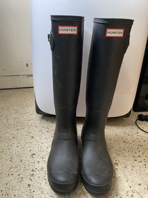 Hunter Rainboots / US Size 9 / EU Size 40/41 for Sale in Fort Lauderdale, FL