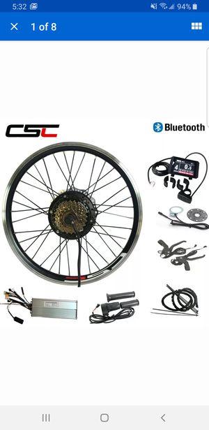 """Used, E- Bike Conversion Kit 48v / 1500w / 24"""" / Rear wheel for Sale for sale  La Costa, CA"""
