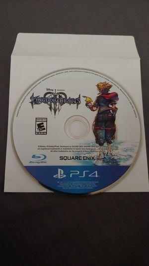 Kingdom Hearts 3 (PS4) for Sale in Moreno Valley, CA