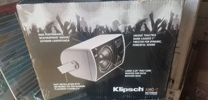 Klipsch indoor/outdoor speakers set for Sale in Houston, TX