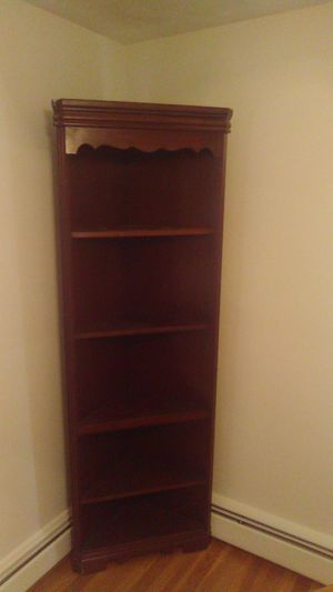 Corner 5 shelf unit. for Sale in North Providence, RI